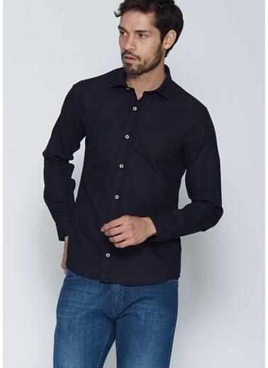Cazador Uzun Kollu Slim Fit Gömlek Siyah